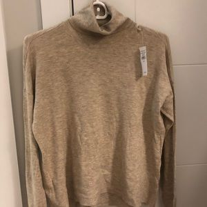 American Eagle Outfitters Tops - AE Turtleneck in Tan
